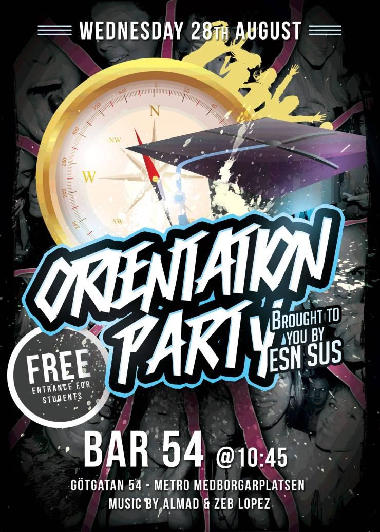 Orientation Party
